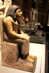 Nebetpedjet Seated (Piedmont Fossil) Tags: houston texas museum natural science ancient egypt artifact statuette figurine
