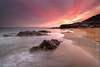 Calblanque (Carlos J. Teruel) Tags: rock mediterraneo nikonafsnikkor1835mmf3545ged nikon sunset inverso filtros 1835 rocas marinas nikon1835 gnd xaviersam nubes cloud carlosjteruel reflejos regióndemurcia murcia mar atardecer d800e calblanque