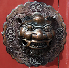 knock knock (helena.e) Tags: helenae summer sommar vacation semester lga husbil motorhome dragongate kina china kion lejon