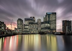 Canary wharf Sunset (Fujismooji) Tags: ifttt 500px sunset canary wharf london sky uk england clouds water sea beach sun blue ocean summer travel city architecture night light sunrise beautiful