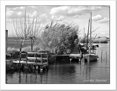 El Palmar-Valencia (Lourdes S.C.) Tags: byn bw elpalmar laalbufera valencia barcas embarcadero