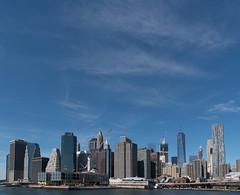 Sky high (SubhadeepM) Tags: new york manhattan city cityscape skyline skyscrapper blue hudson river