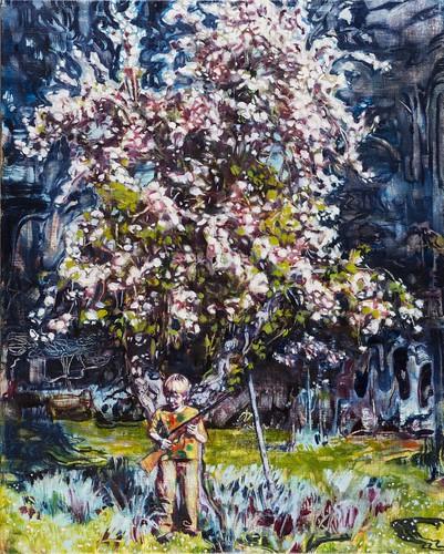 Dominic Shepherd 'The Apple Tree', 2015 Oil on linen 40x32cm
