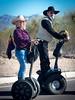 Arizona Cowpoke (_bobmcclure_) Tags: cowboy cowgirl orme dam days arizona western southwest segway