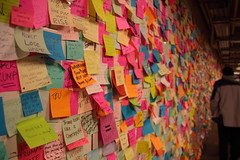 IMG_2238 (neatnessdotcom) Tags: union square subway station postit notes wall tamron 18270mm f3563 di ii vc pzd canon eos rebel t2i 550d