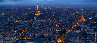 Evening Blue Hour - Montparnasse