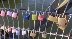 20160930-20160930_124725 (BEH61) Tags: bridges haidplatz regensburg spatzierezone locks love padlocks bayern germany