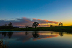 Fresh at Carton House (Costigano) Tags: scenery scenic carton kildare canon eos ireland irish outdoor reflection sunset sky clouds