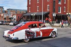 Husker spirit (stevelamb007) Tags: automobile car huskers nebraska stevelamb nikon d7200 nikkor18200mm football red