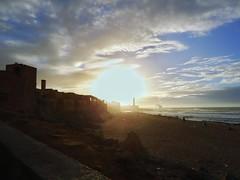 Rabat, Morocco (Ouissal) Tags: sun sky beach rabat morocco