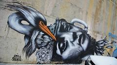 Ricardo Akn + Bailon_5927 Paris 20 (meuh1246) Tags: streetart paris ricardoakn paris20 bailon animaux oiseau