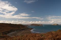 Bucht (derriesen) Tags: stmartins scilly nikondf 3520 landscape bay atlantic vacation polfilter
