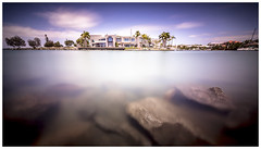 The Crib (JakaPH Photography) Tags: landscape seascape sea water long exposure lee little stopper nd 6 16 10 filter rocks house home big day daylight daytime clouds cleveland queensland qld australia smooth color colour