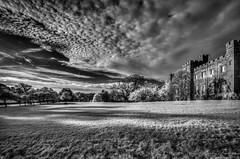 SconePalaceViews (Martin_Finlayson) Tags: sconepalace scotland perth ir infrared monochrome clouds trees nikon lightroom hdr photomatix d70 tamron 1024mm