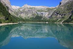 Lac du Tseuzier (Suisse, Canton du Valais) (bobroy20) Tags: suisse valais lac montagne alps alpes alpessuisses cantonduvalais wallis lacdutseuzier tseuzier sommet rocher pic panoram panorama eau sion anzre barrage