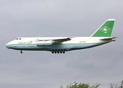 Libyan Arab Airlines Antonov 124 (Retro Jets) Tags: libyan an124 man
