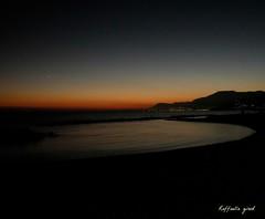 Tramonto a Ventimiglia (Raffaella_Girod_filla) Tags: raffaellagirod tramonto mare italia ventimiglia natura paesaggio atmosfera