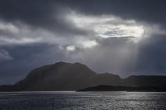 shadow (crazyhorse_mk) Tags: torghatten norway landscape nature island coast mountain sea water sky clouds light shadow sunbeam