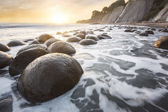 Bowling Ball Beach (J.S. Wolf Photography) Tags: jswolfphotography bowlingballbeach california nikon d810 nature landscape natural water ocean seasunset color
