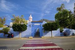 Opened Masjid (T Ξ Ξ J Ξ) Tags: morocco chefchaouen sefasawan d750 nikkor teeje nikon2470mmf28 blue city market