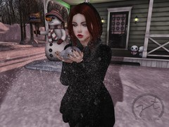 My Only Wish This Year {LOTD} (JadeTroll) Tags: uber justbecause lelutka meowandstuff suicidedollz snow sarisari blog blogger secondlife second life sl