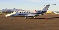 112416-02, N77ND '02 Cessna 525 Citation (skw9413) Tags: bizjet aricraft falconfield n77nd cessna525a cessnacitationj