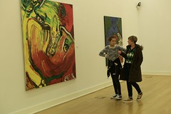 At the museum - Walking and discussing (pedrosimoes7) Tags: candid creativecommons cc