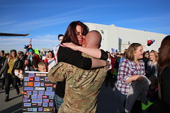Utah National Guard (The National Guard) Tags: utah ut utng welcome home homecoming deployed deployment iraq airborne families family child children kids parent milfam greeting greets hugs spouse wife husband nationalguard national guard ng military troops guardsman guardsmen soldier soldiers airmen airman us army air force united states america usa 2016