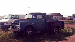 Junkyard power wagon (grizfan) Tags: southdakota 4x4 dodge powerwagon