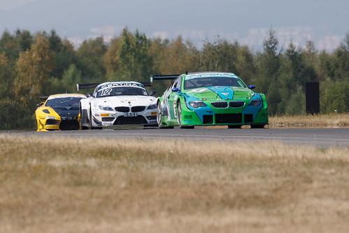 BMW Alpina B6 + BMW Z4 GT3 + Ferrari 430 GT3