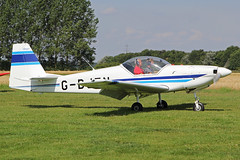 G-BJZN (QSY on-route) Tags: york light fly aircraft vale strut association laa in of gbjzn 08082015