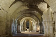 Basilique Saint-Eutrope, Saintes. Poitou-Charentes (France) (paula_gm) Tags: france romanesque francia saintes cripta romanico charentemaritime sainteutrope potoucharentes