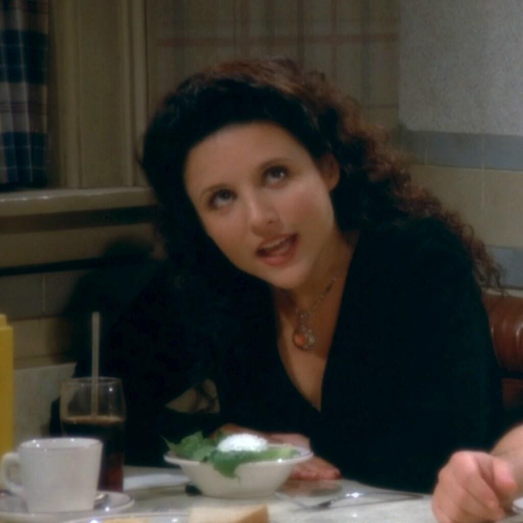 Seinfeld Elaine datovania sériový vrah Carmen a Todd datovania