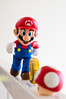 It's a me, Mario! (Seg Fault) Tags: mushroom coin nintendo mario figure bandai shfigarts