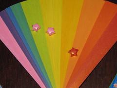 star paper (Atelier ArthSarah!) Tags: paper origami modular japo papel bola tesoura sorte mbile tsuru dobradura longevidade dobras pendurar kudusama