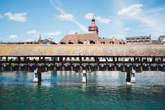 Bridge (martindesu) Tags: switzerland europe luzern rx1