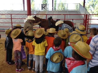 2015 - 1st Grade Feb. 25 Bergeron Rodeo Grounds, Davie, FL with Davie Rotary Club