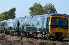 Great Western Green (stavioni) Tags: train diesel great first rail railway western multiple unit stp dmu class166 166205