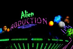 Alien Abduction (Cragin Spring) Tags: usa wisconsin night rural lights midwest unitedstates unitedstatesofamerica alien fair planets rides flyingsaucer countyfair wi elkhorn alienabduction walworthcountyfair elkhornwi walworthcounty elkhornwisconsin
