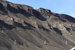 Afternoon shadows from the Plateau mountain (harald.bohn) Tags: norway norge august svalbard spitsbergen longyearbyen 2015 skygger ettermiddag platfjellet affof taubanemaster