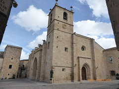 Caceres Cathedral (martinrstone) Tags: architecture cathedrals