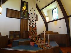 DSC04157 (Michael S in Seattle) Tags: sacredspace fabricart wallingfordumc sanctuaryart welcomesunday2015