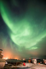 ABC_4853s (savillent) Tags: sky snow canada storm ice night clouds dark stars landscape photography lights solar nikon october nocturnal northwest space alien north nwt arctic astrophotography freeze aurora midnight flare northern universe saville lunar climate territories borealis 2015 xfile geomagnetic tuktoyaktuk