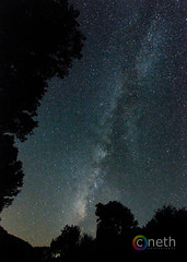 Photography of The Milky Way (Cathy Neth) Tags: statepark nightphotography stars star space nasa galaxy coloradoriver astronomy milkyway texasstatepark coloradobendstatepark longexposurephotography milkywayphotography cnethphotography