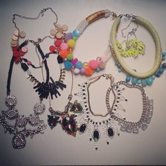 jewelerry #jewelry #addicted #necklace #handmade #biju... (irminastyle) Tags: fashion necklace handmade jewelry accessories addicted biju jewelerry uploaded:by=flickstagram instagram:photo=626646328569544583187243118