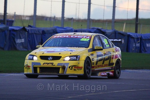 The Holden V8 of Alex Sidwell in Britcar Endurance Racing during the BRSCC Winter Raceday, Donington, 7th November 2015
