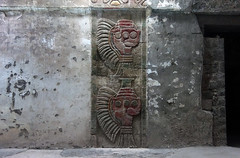 Relief carving, Teōtīhuacān