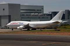 Orient Thai Airlines HS-STB (Howard_Pulling) Tags: china roc airport nikon aircraft air taiwan july taipei airlines tpe 2015 howardpulling d5100