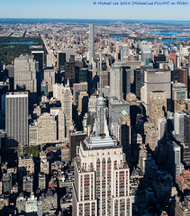 Long Shadows (PA101198-Edit) (Michael.Lee.Pics.NYC) Tags: newyork skyscrapers centralpark olympus aerial helicopter esb empirestatebuilding uppereastside mkii metlifebuilding markii wardsisland midtownmanhattan panambuilding harlemriver em5 432parkavenue flynyon 1240mmpro28