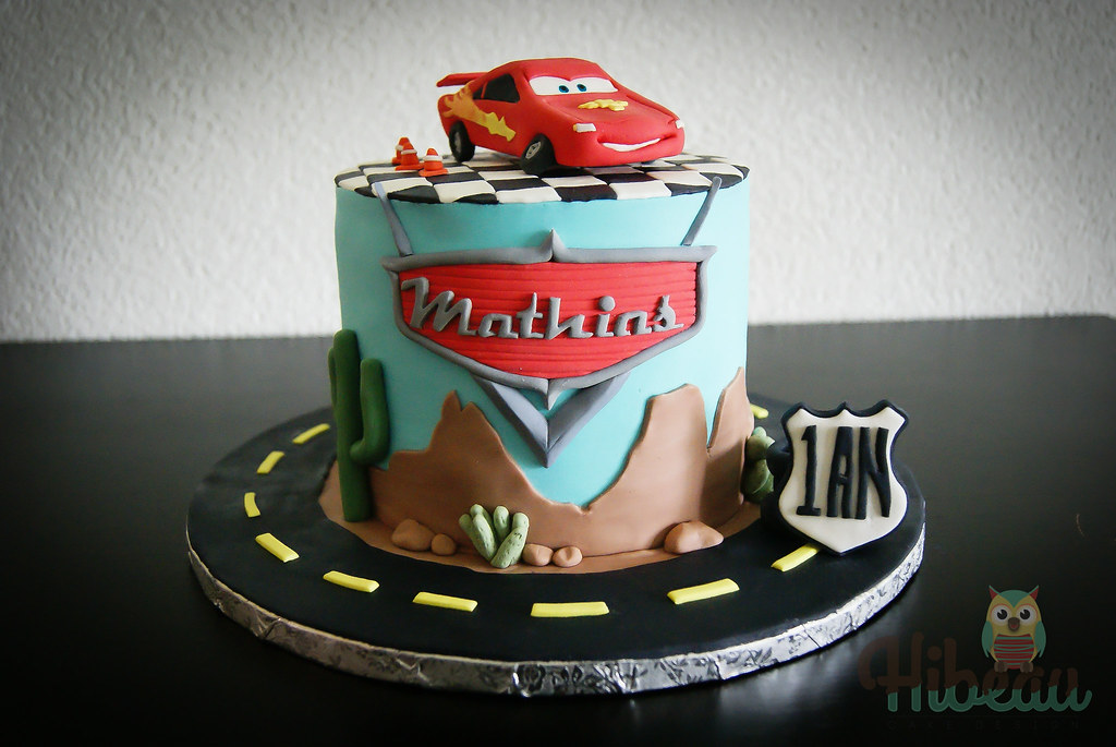 Cake Designs Disney Cars : The World s Best Photos of cake and mcqueen - Flickr Hive Mind